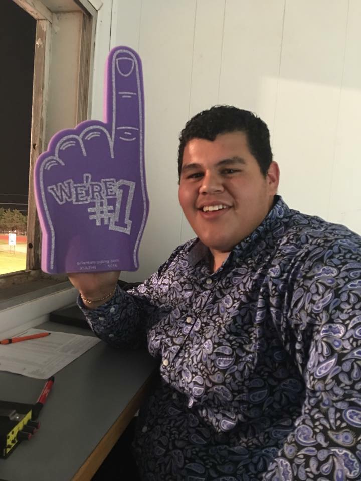 Tune in to hear Daniel Flores calling the games on Friday nights.